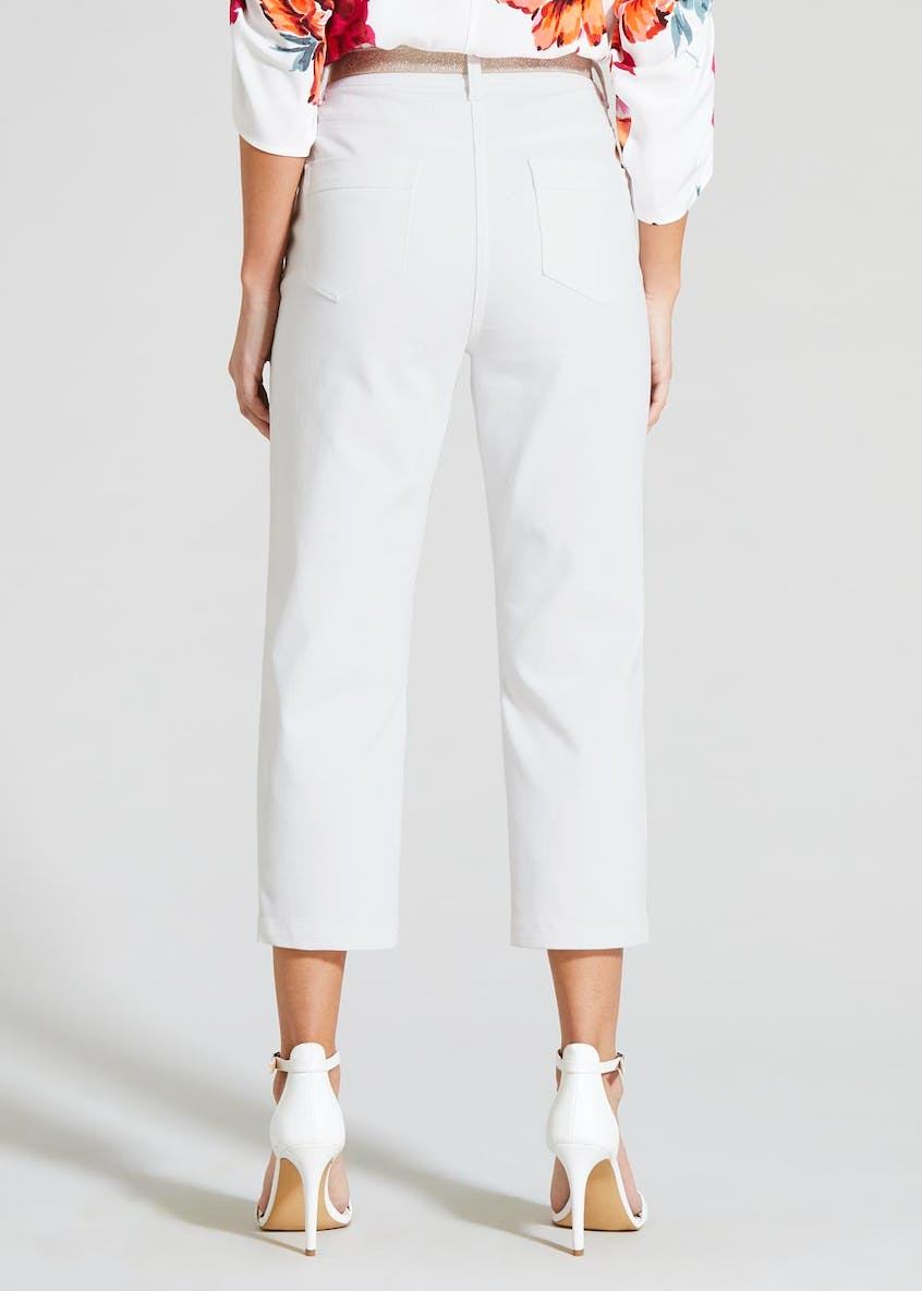 Soon Belted Cropped Trousers