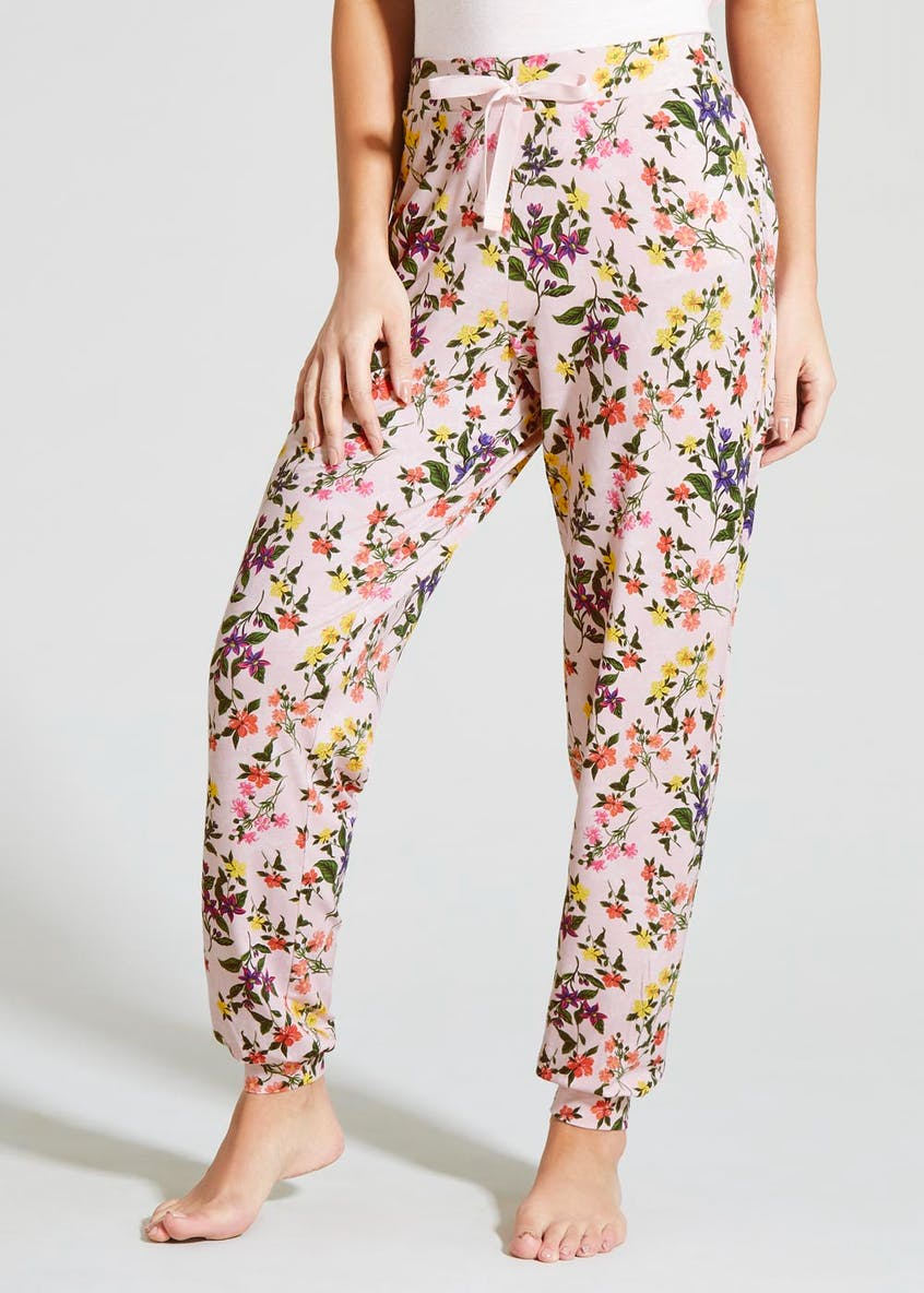 Floral Cuffed Pyjama Bottoms