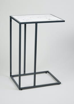 Dasha Marble Side Table (H60cm x W30.5cm x L40.5cm)