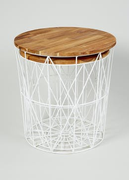 Jaxson Nesting Side Table (H48cm x W45cm)