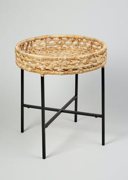 Otto Woven Side Table (H48cm x W45cm)