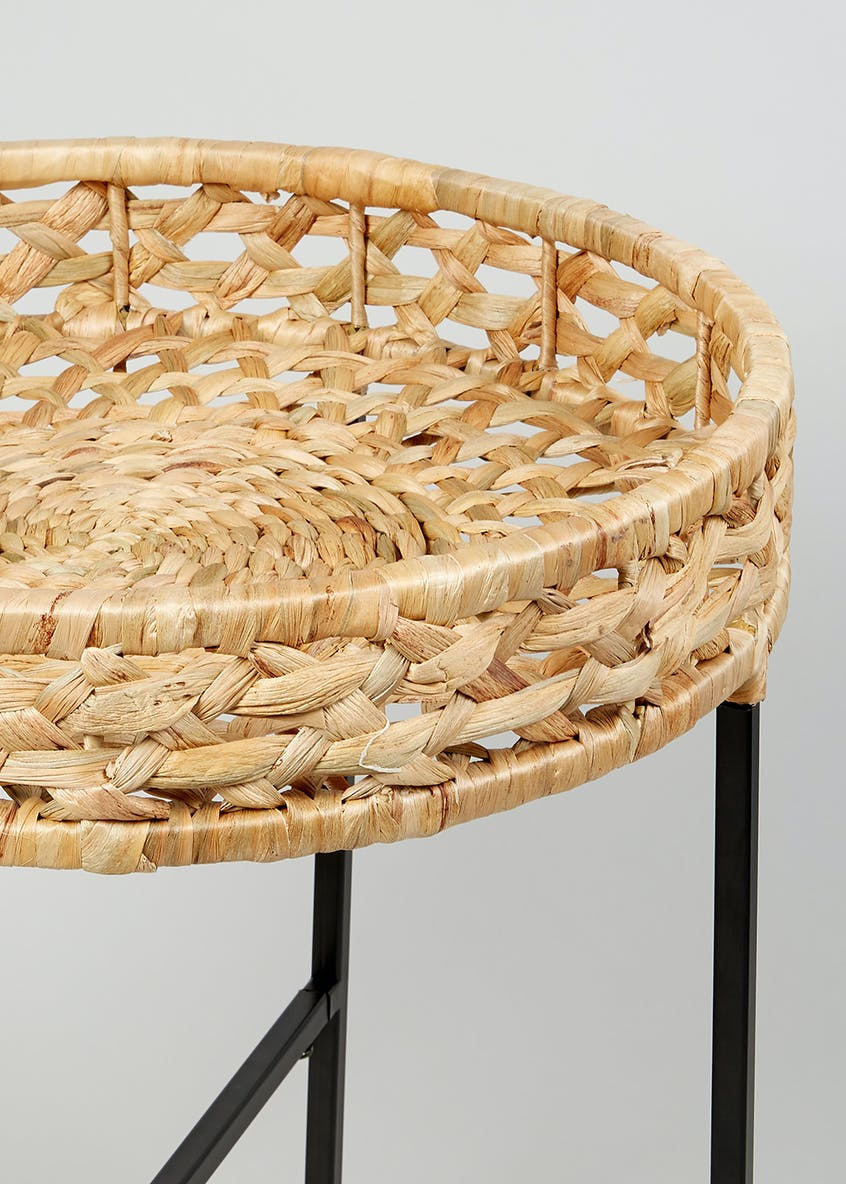 Otto Woven Side Table