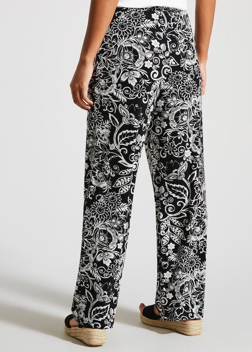 Paisley Wide Leg Trousers