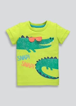 d76e08c0560 Kids 3D Sunglasses Crocodile T-Shirt