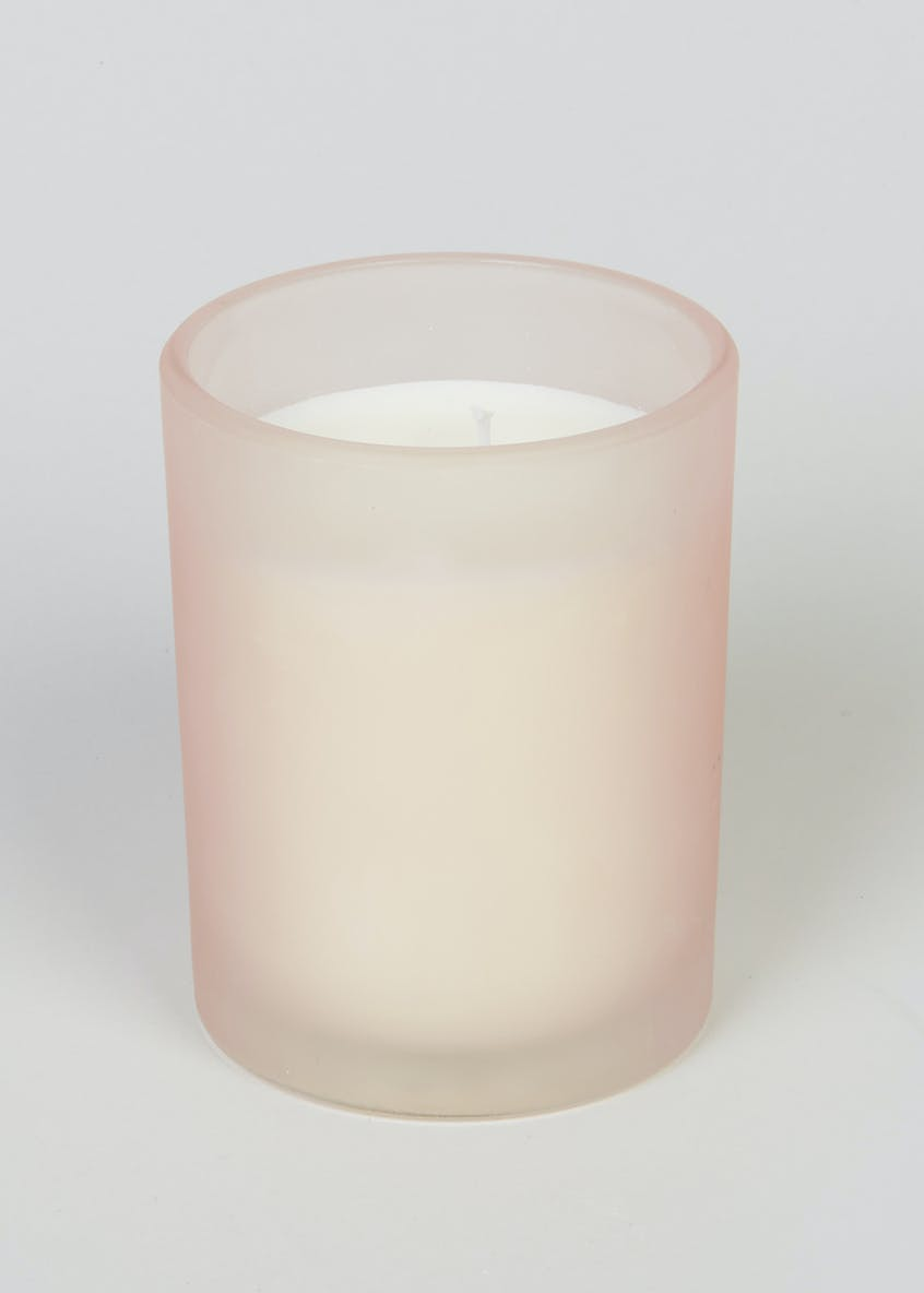 Wild Lily & Grapefruit Frosted Candle (10cm x 8cm x 8cm)