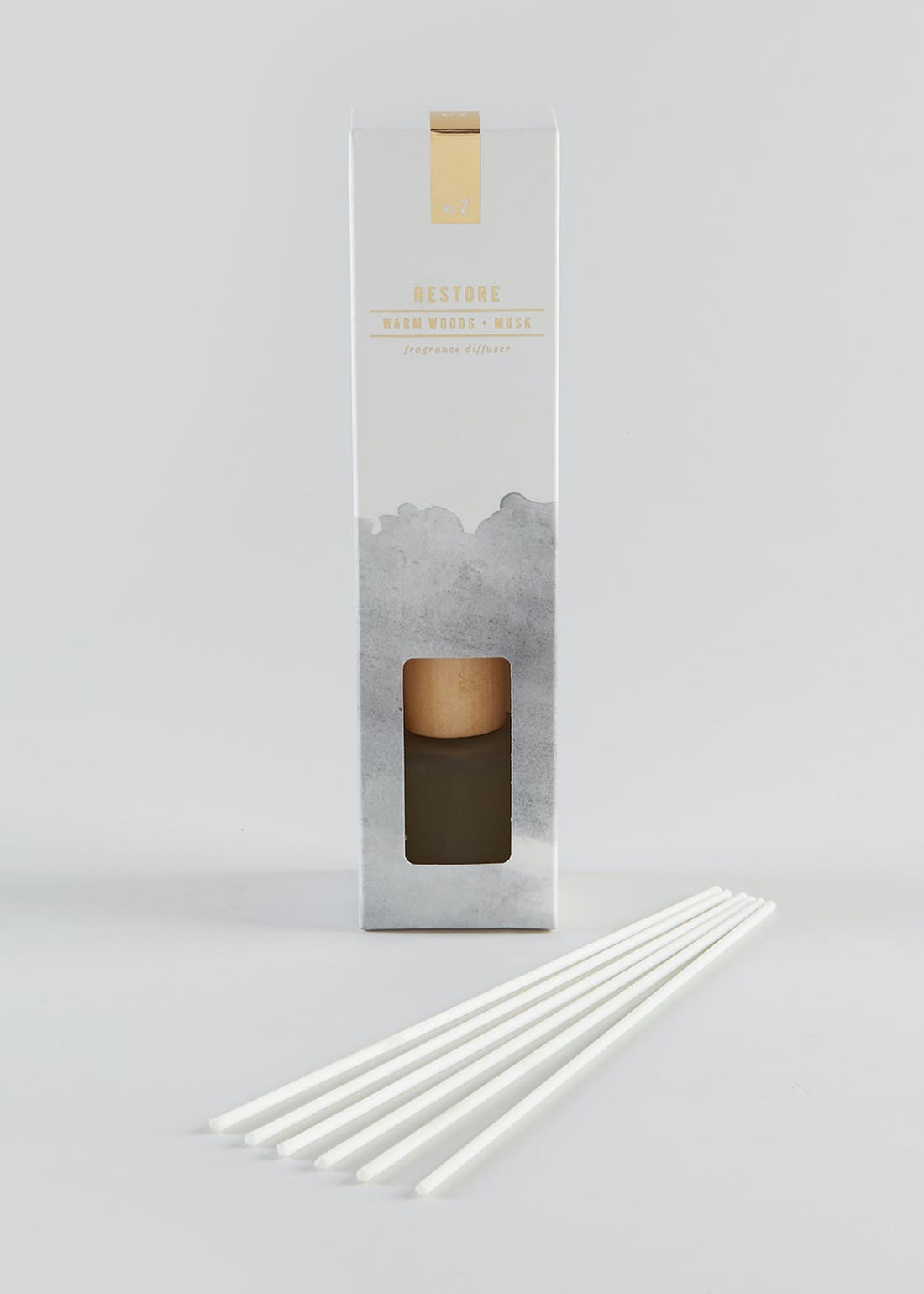 Warm Woods & Musk Fragranced Diffuser (50ml)