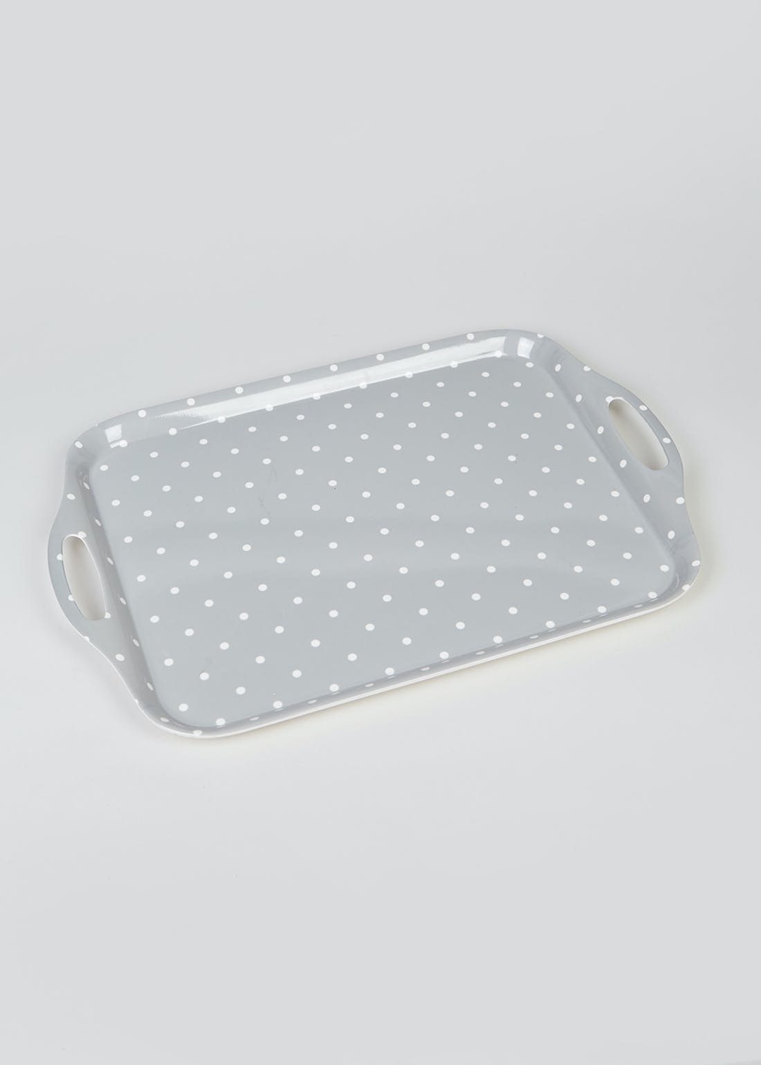 Polka Dot Food Tray (48cm x 33cm)
