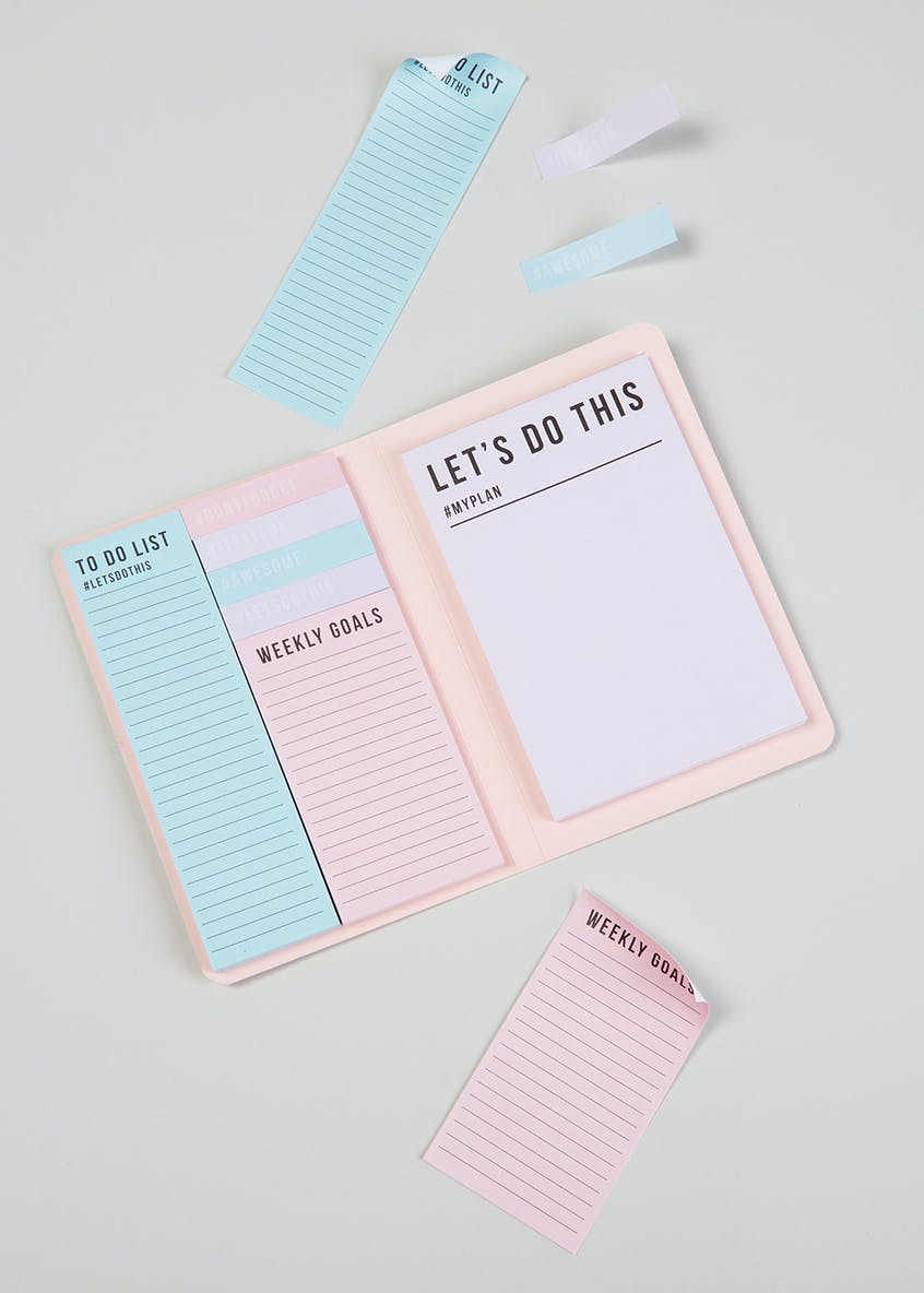 Sticky Note Wallet (17cm x 12cm)