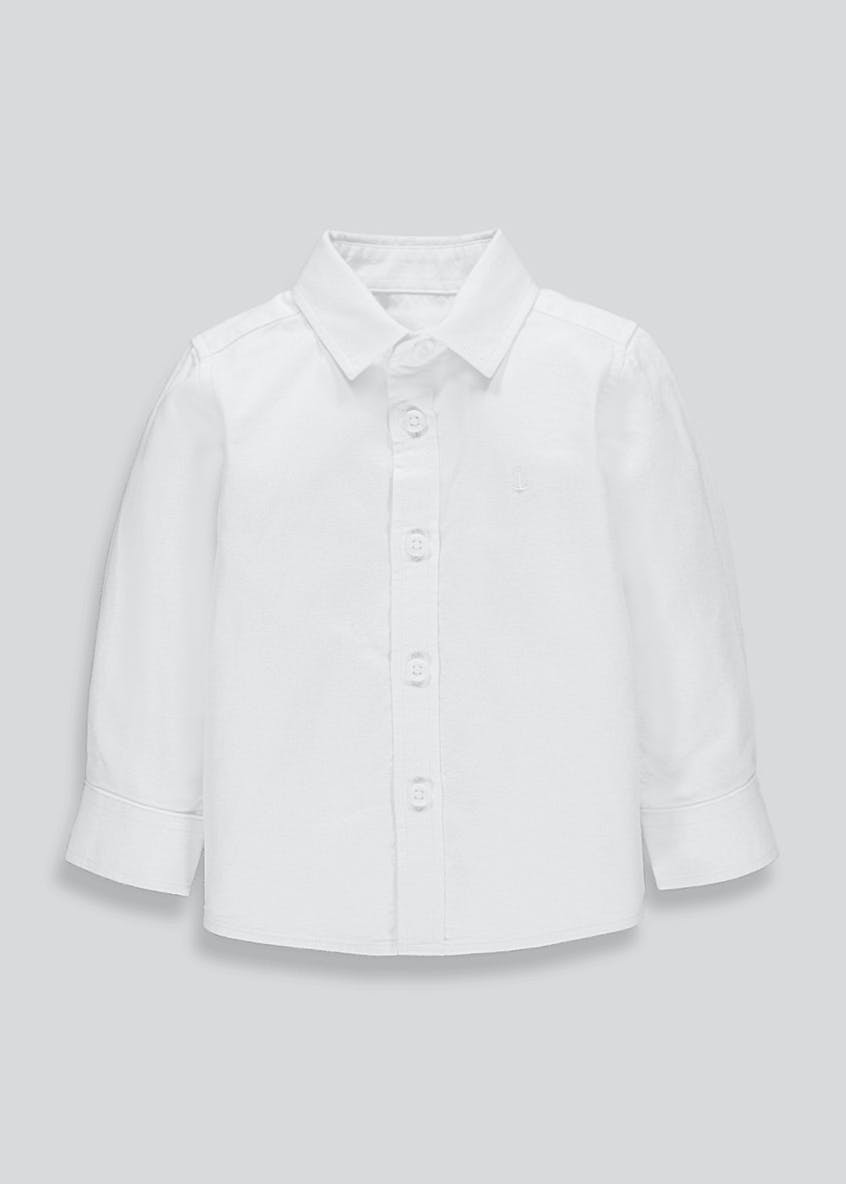 Boys Long Sleeve Oxford Shirt (9mths-4yrs)