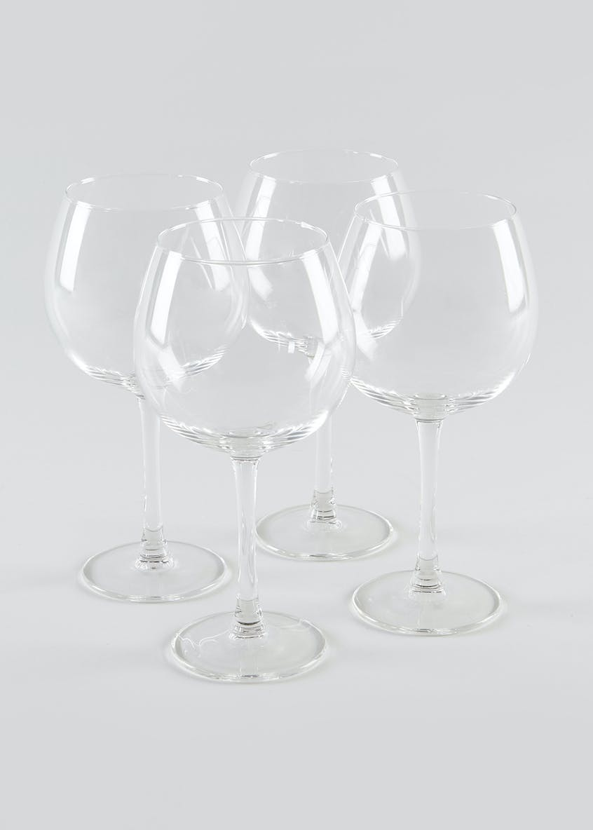 4 Piece Red Wine Glass Set (19cm x 6cm)