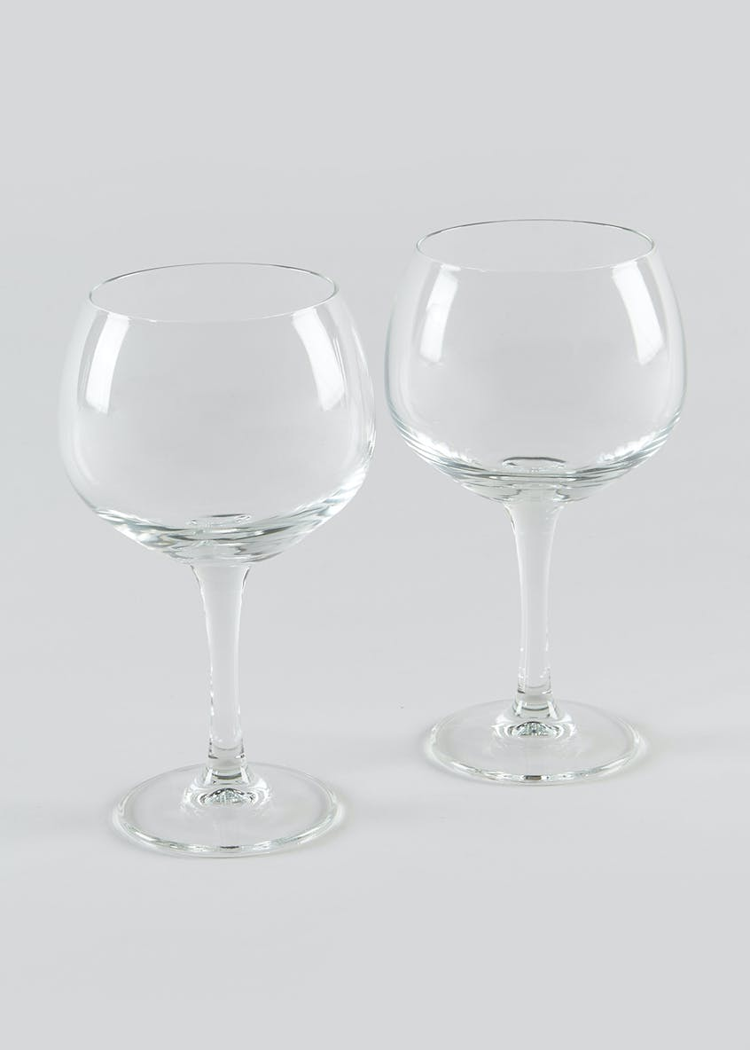 2 Piece Gin & Tonic Glass Set (18cm x 11cm)
