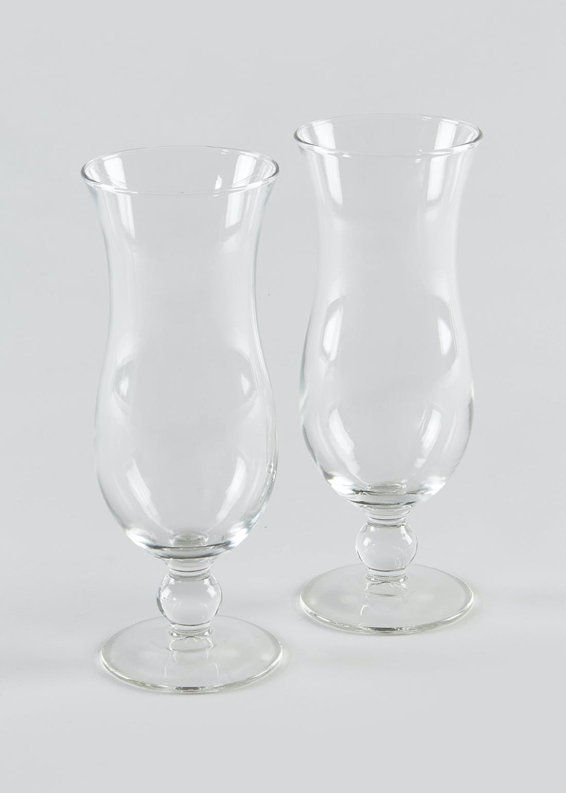 2 Pack Hurricane Glasses (20cm x 6cm)