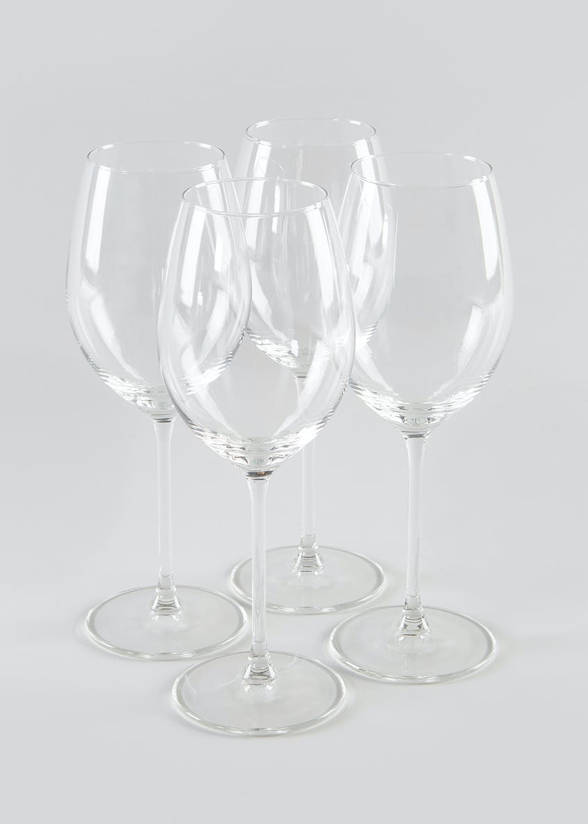 4 Piece White Wine Glass Set (21cm x 8cm)