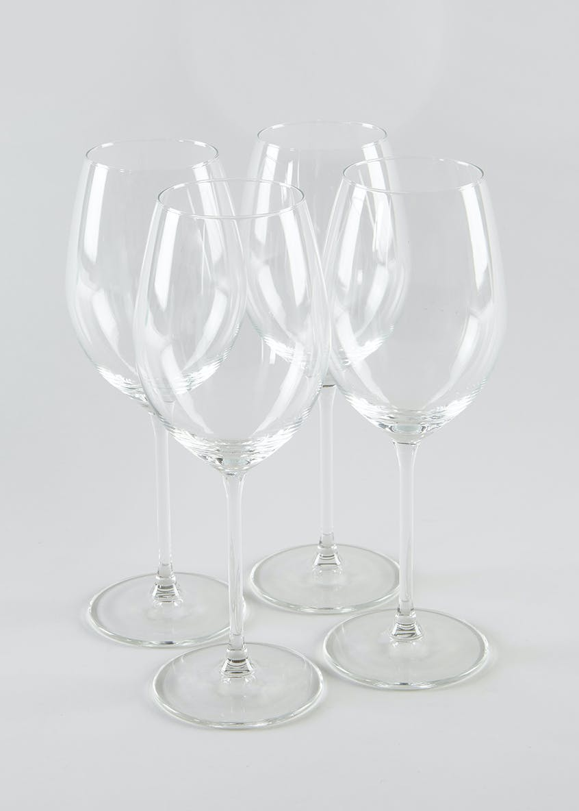 4 Piece Red Wine Glass Set (22cm x 6cm)