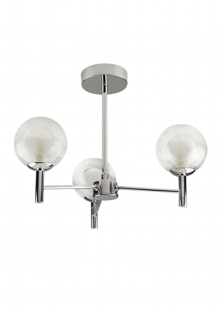 Gus Semi Flush Light (H32cm x W43cm)