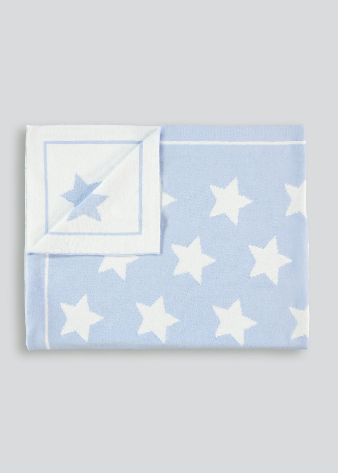 Knitted Star Blanket (One Size)