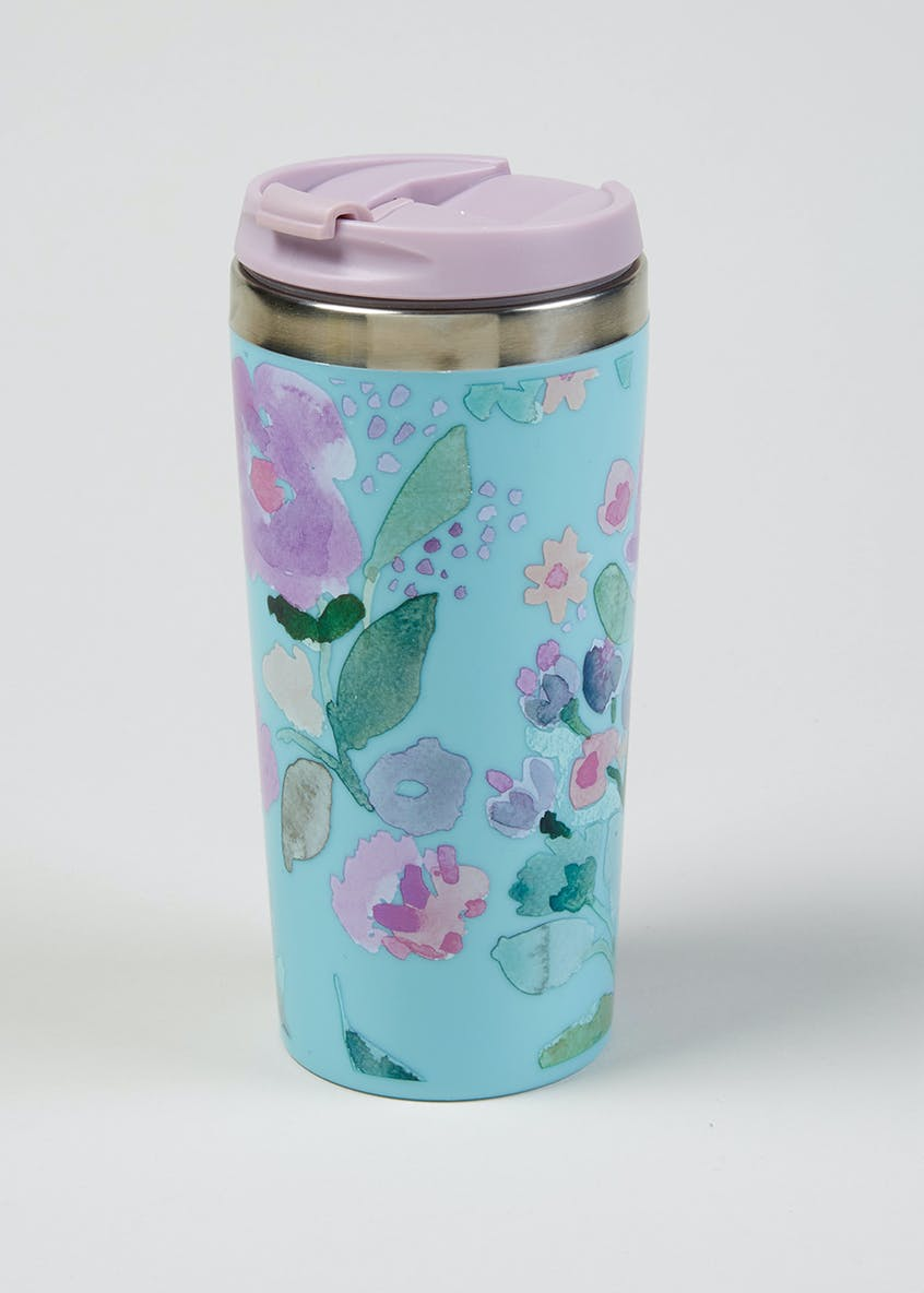 Floral Travel Mug (400ml)
