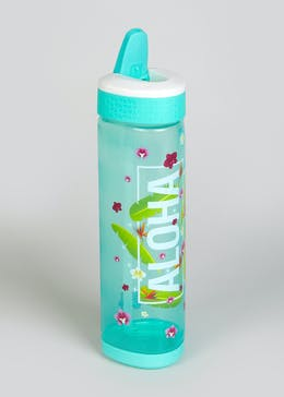 Love Slogan Triangle Water Bottle (24cm x 7cm)