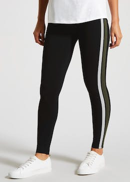 7b67b64bb91652 Women's Leggings - Printed, Black Leggings – Matalan