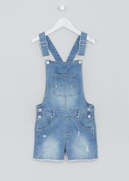 Girls Candy Couture Denim Playsuit (9-16yrs)