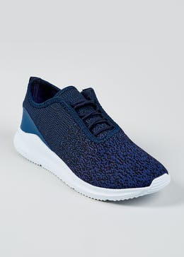 Souluxe Mesh Knitted Trainer