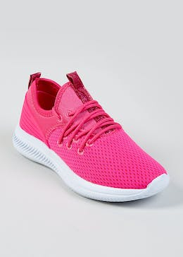 458c5404590 Girls Souluxe Mesh Sports Trainers (Younger 5-Older 10)
