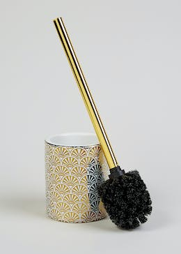 Fan Print Toilet Brush (40cm x 10cm)