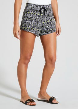 Basic Aztec Jersey Shorts