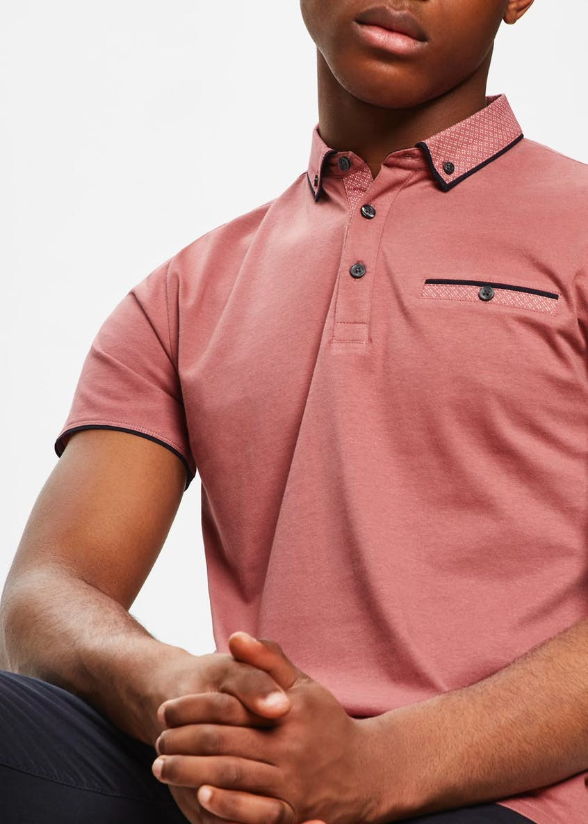 Geometric Polo Shirt