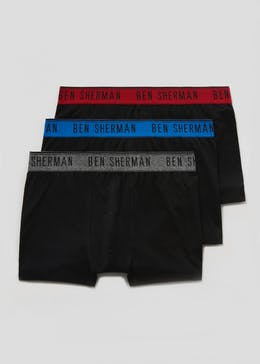 3 Pack Ben Sherman Trunks