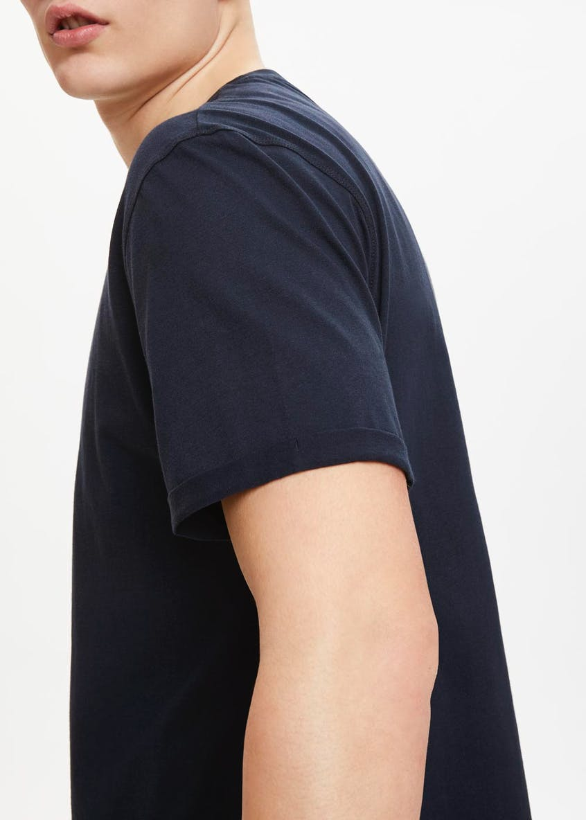 Basic Crew Neck Relaxed Fit T-Shirt