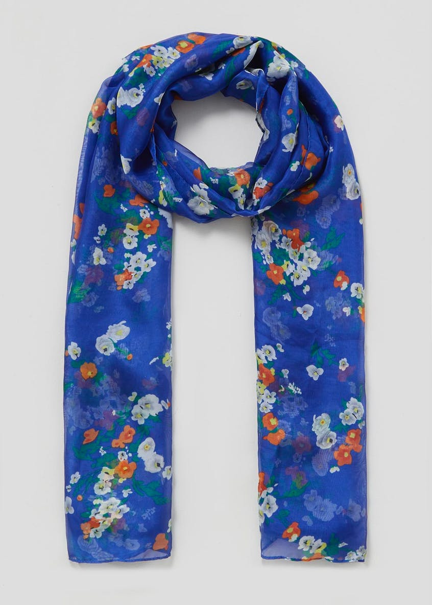 Classic Floral Scarf