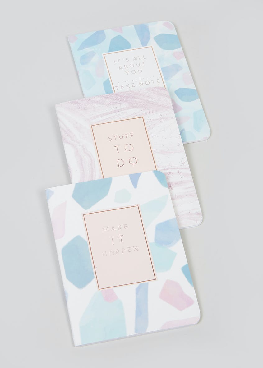 Set of 3 Notebooks (A6)