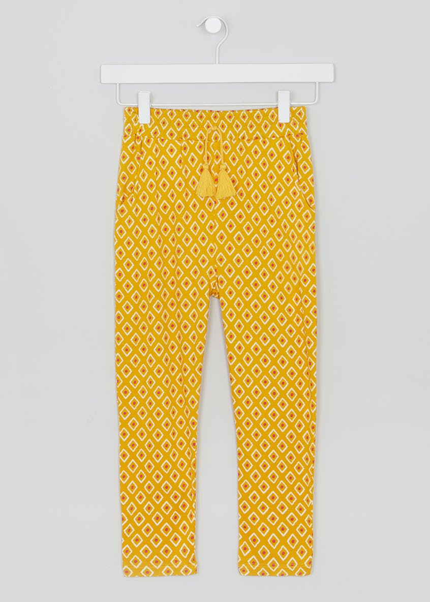 Girls Printed Trousers (4-13yrs)