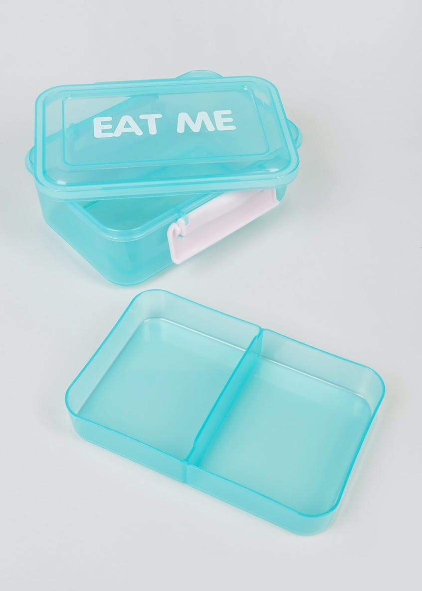 Eat Me Slogan Lunch Box (19cm x 14cm x 7cm)