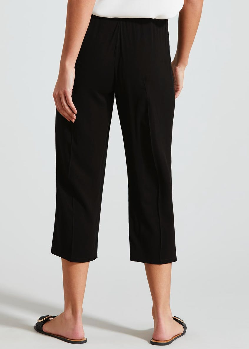 Viscose Cropped Trousers