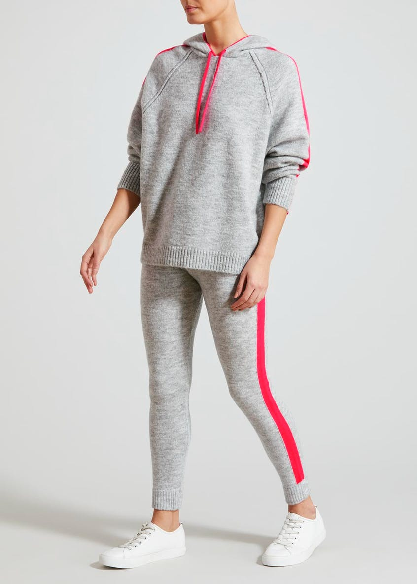 Neon Knitted Jogging Bottoms