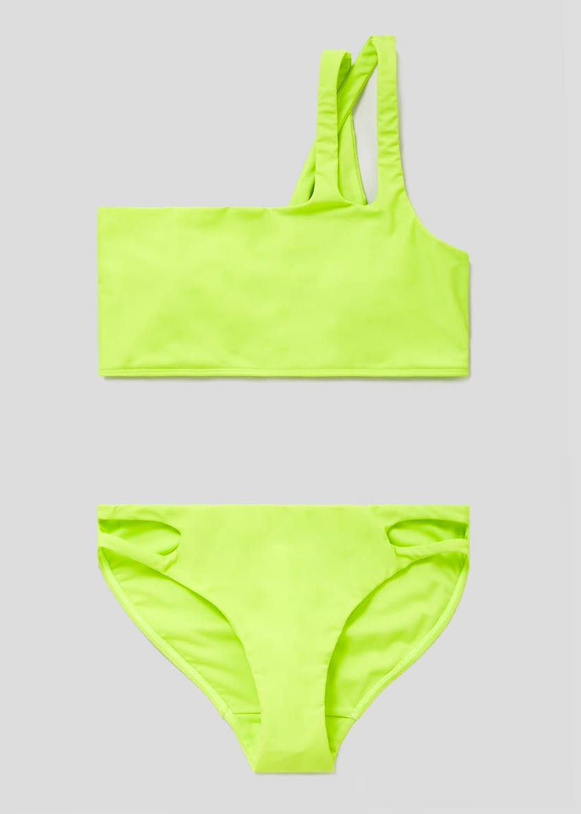 One Shoulder Bikini Set