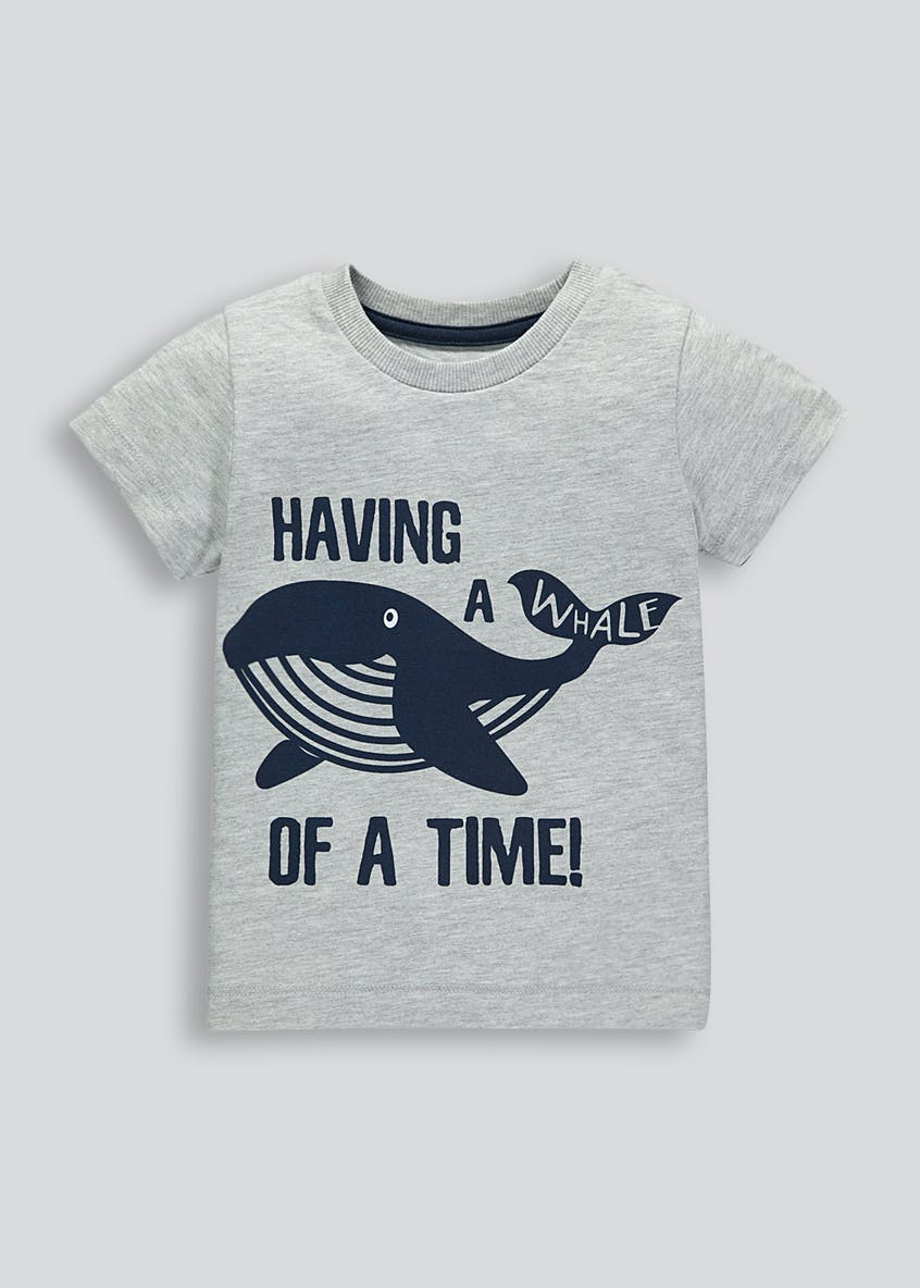 Kids Whale T-Shirt (9mths-6yrs)