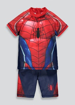 502608e63b65 Kids Spider-Man Surf Suit (12mths-7yrs)