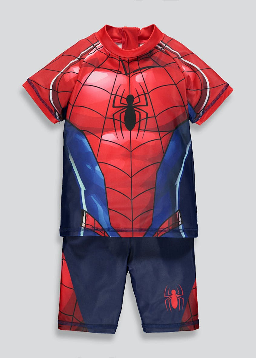 Kids Spider-Man Surf Suit (12mths-7yrs)