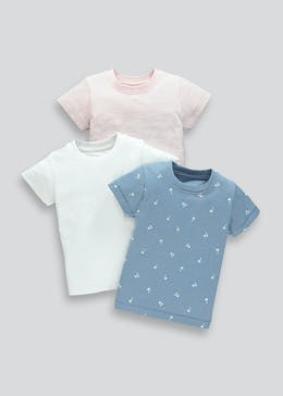 Boys 3 Pack T-Shirts (9mths-6yrs)