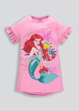 Kids Disney Ariel Nightie (2-11yrs)