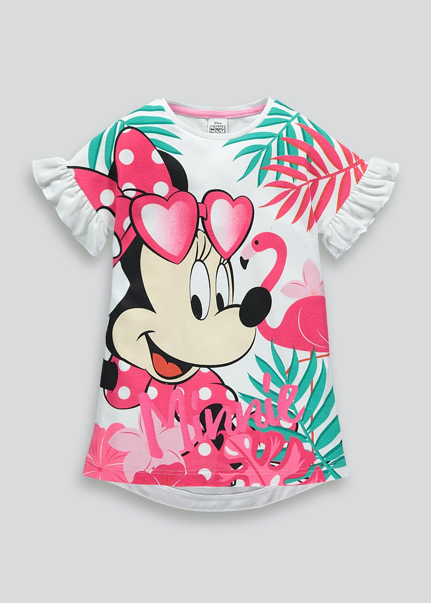 Kids Disney Minnie Mouse Nightie (18mths-11yrs)