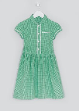 Girls Traditional Gingham School Dress (3-14yrs)