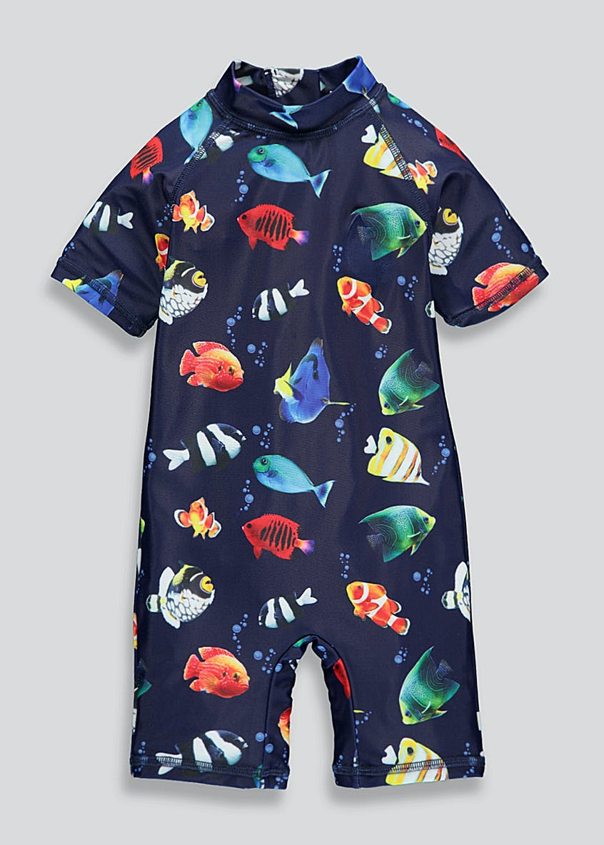 Kids Angel Fish Surf Suit (3mths-4yrs)