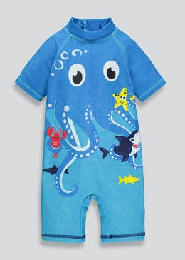 Kids Octopus Surf Suit (3mths-4yrs)