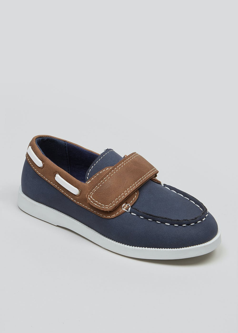 0a31aa6aa Boys Boat Shoes (Younger 4-12) – Navy – Matalan