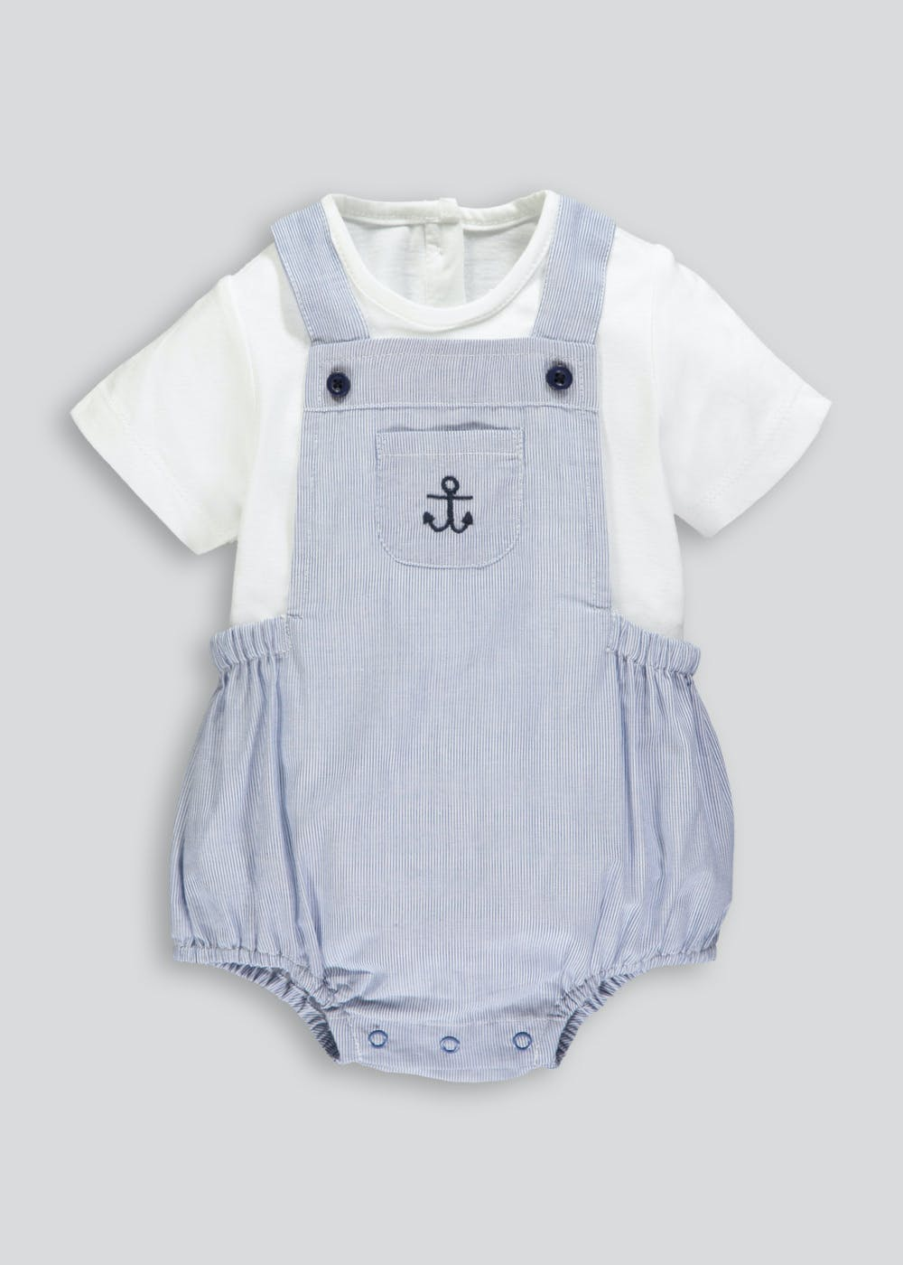 3ad9d3038 Unisex Nautical Romper Cardigan Bodysuit & Socks Set (Newborn-18mths)