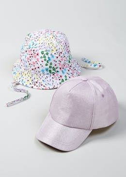 Kids 2 Pack Cap   Sun Hat (6mths-4yrs) 5e64a25b25ed